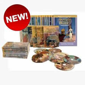 12 Animated Old Testament, New Testament, and Hero Classic's DVD Collection on True Leadership