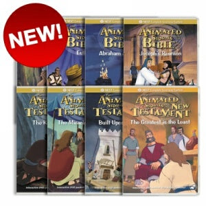 8 Animated Old Testament and New Testament DVD Collection on Sacrificial Love