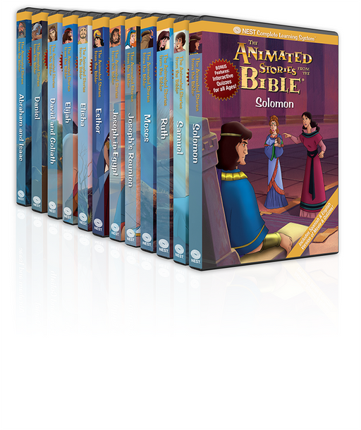 12 Animated Old Testament DVD Collection