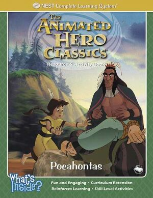 Pocahontas Activity And Coloring Book Printed Book