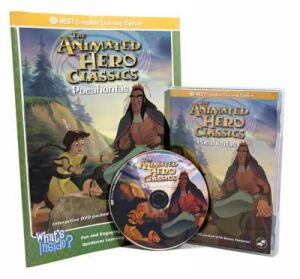 The Animated Story Of Pocahontas Video On Interactive DVD
