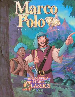 Marco Polo Activity And Coloring Book Instant Download