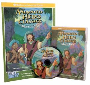 The Animated Story Of Marco Polo Video On Interactive DVD