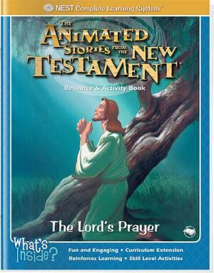 The Lord's Prayer Activity And Coloring Book - Instant Download