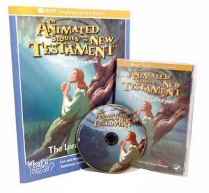 The Lord's Prayer Video On Interactive DVD