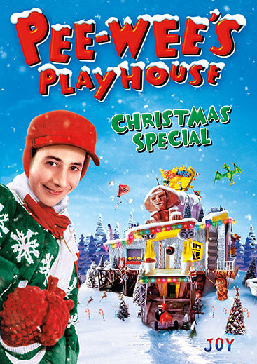 Pee Wees Play Christmas DVD