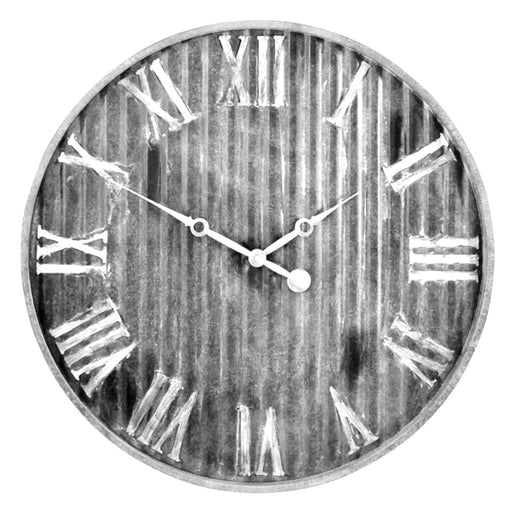 Westclox 13-inch Stylish Metal Wall Clock With Metal Dial