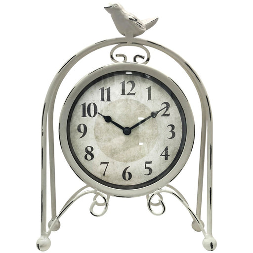 Westclox Metal Bird Table Clock