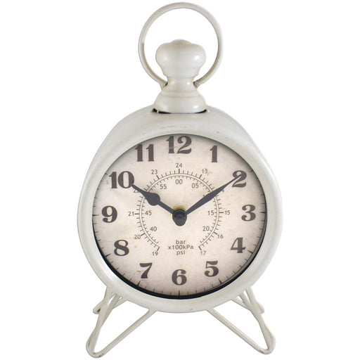 Westclox Metal Table Clock