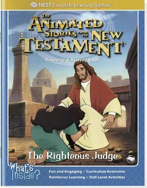 The Righteous Judge Activity And Coloring Book - Instant Download