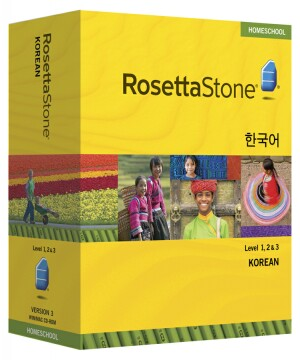PRE-ORDER: Rosetta Stone Korean Level 1, 2 & 3 Set- Currently out of stock