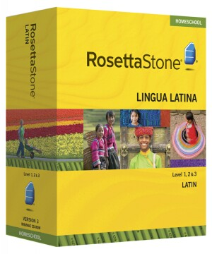 PRE-ORDER: Rosetta Stone Latin  Level 1, 2 & 3 Set - Currently out of stock