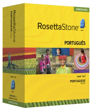 PRE-ORDER: Rosetta Stone Portuguese (Brazil) Level 1 & 2 Set- Currently out of stock