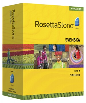 PRE-ORDER: Rosetta Stone Swedish Level 3- Currently out of stock