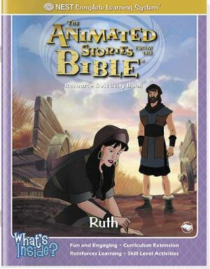 Ruth Activity And Coloring Book - Instant Download