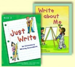 Write About Me & Write About My World Teacher Guide Grd 1 (Just Write Series)