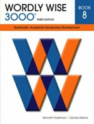 Wordly Wise 3000 Student Book Grade 8 3rd Edition
