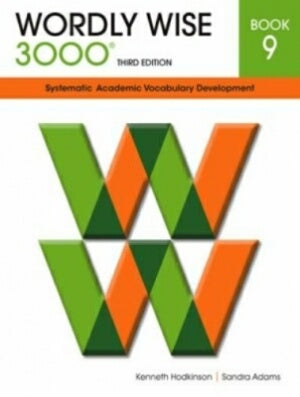 Wordly Wise 3000 Student Book Grade 9 3rd Edition