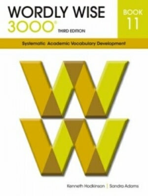 Wordly Wise 3000 Student Book Grade 11 3rd Edition
