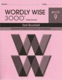 Wordly Wise 3000 Test Book Grade 9