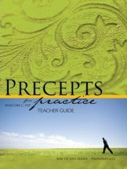 Precepts For Practice Teacher