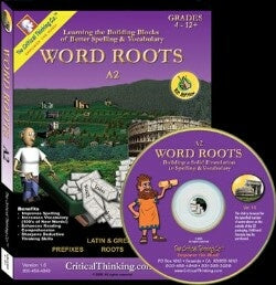 Word Roots A2 Software Grd 4-12