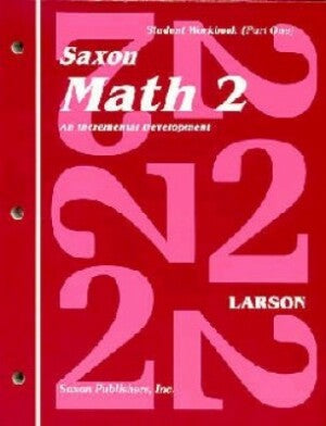 Saxon Math 2 Student Workbooks/Fact Cards First Edition