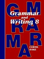 Grammar & Writing Grade 8 Kit