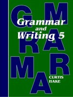 Grammar & Writing Grd 5 Teache