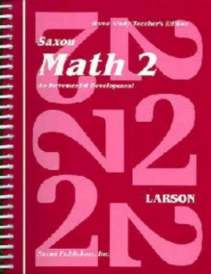Saxon Math 2 Home Study Teachers Manual First Edition