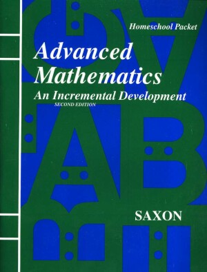 Saxon Advanced Math Answer Key & Tests Second Edition