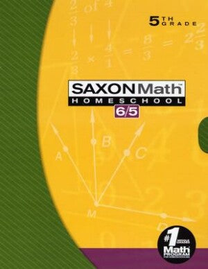 Saxon Math 65 Home Study Kit (5th Grade) Third Edition