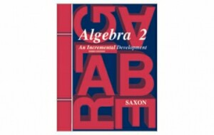 Saxon Algebra 2 Tests Only 3rd Edition