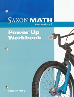 Saxon Math Intermediate 3 Power Up Workbook