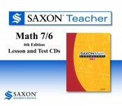 Saxon Homeschool 76 Teacher CD