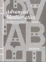 Saxon Advanced Math Tests Only
