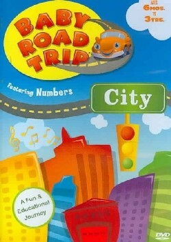 Baby Road Trip Numbers City DVD