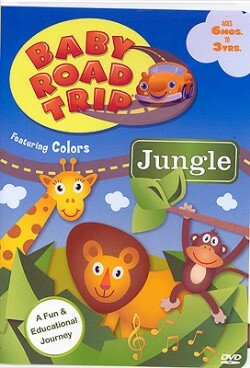 Baby Road Trip Colors DVD