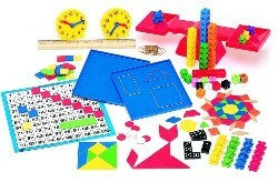 Saxon Math Manipulatives Kit Grade K-3