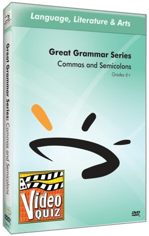 Commas and Semicolons Video Quiz