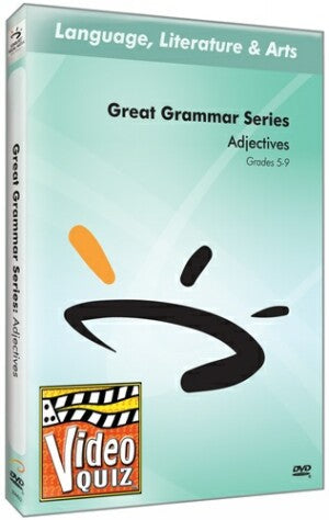 Great Grammar Series: Adjectives Video Quiz