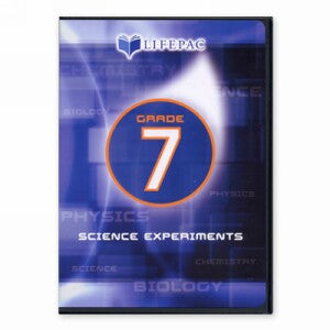 LIFEPAC Science Experiments DVD Grade 7