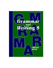 Grammar & Writing Grade 5 Textbook