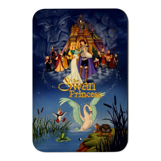 "The Swan Princess Movie Poster Art Home Business Office Sign - Wood - 6"" x 9"" (15.3cm x 22.9cm)"