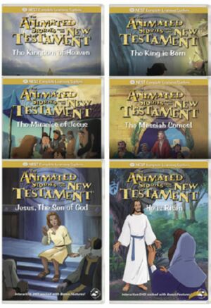 Stories of Jesus- New Testament 6 DVD Package