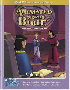 Solomon Activity And Coloring Book - Instant Download