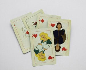 Swan Princess Deck of Playing Cards
