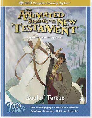 Saul Of Tarsus Activity And Coloring Book - Instant Download