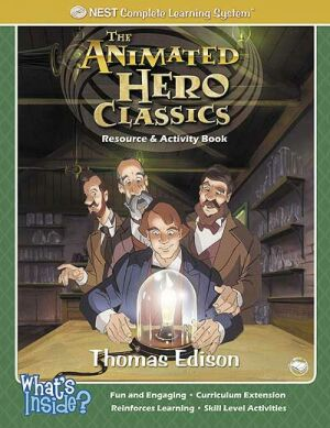 Thomas Edison Activity And Coloring Book Printed Book
