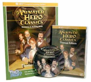 The Animated Story Of Thomas Edison Video On Interactive DVD